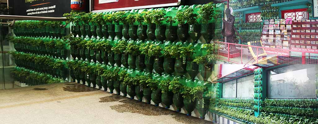 Vertical Gardening – An Inspiring Initiative by iLEAD